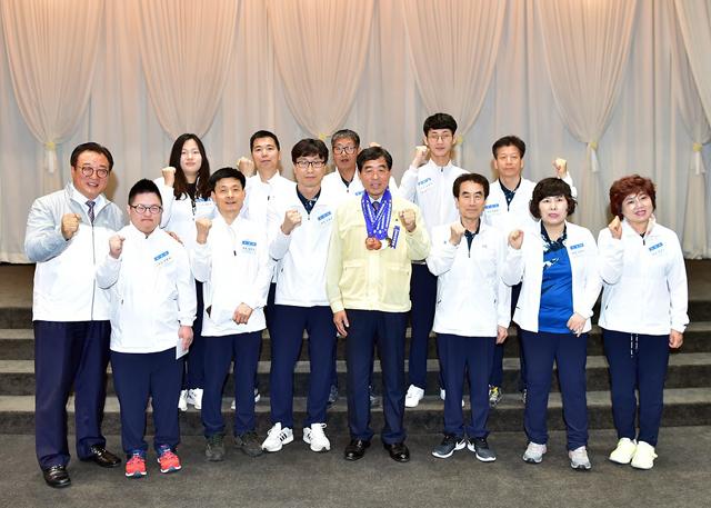 안산시, 경기도장애인체전 해단식·전국장애학생체전 환영식 개최