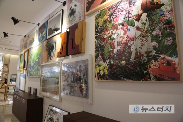2019아트경기 팝업갤러리, 수원 AK갤러리에서 개최