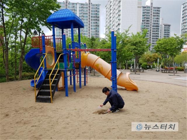 도내 유치원, 어린이 놀이터 3곳서 '기생충(란)' 검출