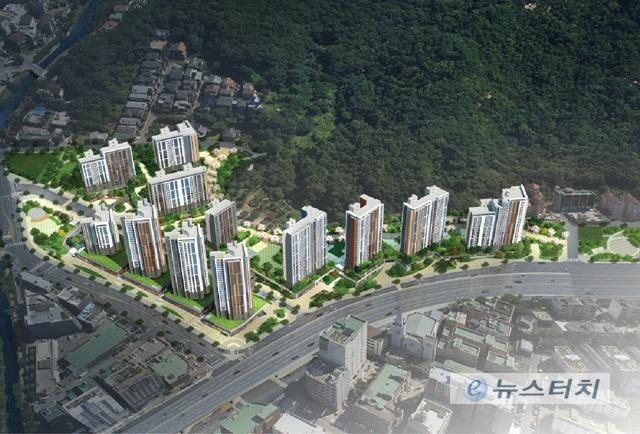 GS건설, 안양 '아르테자이' 4일 1순위 청약 접수