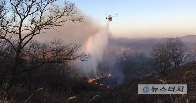 경기도, 올해 산불진화헬기 20대 운영