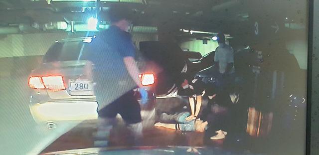 안양동안경찰서 비산지구대 직원들 CPR로 소중한 생명 구조