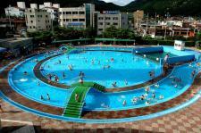 안양시시설관리공단 야외수영장 전경